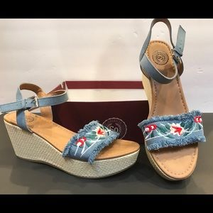 fcf05bbb167825 SO Icefish Wedge Sandals size 9